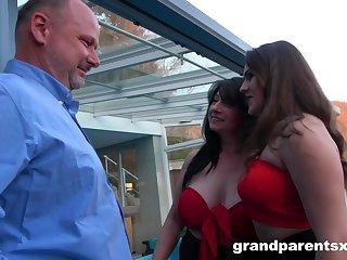 GrandParentsX Innocent Teen And Her Principal Sexual Experi