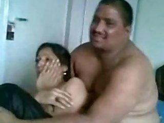 This Pakistani slut feels comfortable having score coition on camera