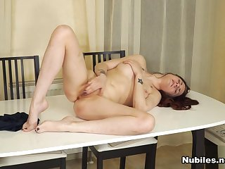 Alissa Candy in Determined To Cum - NUBILES