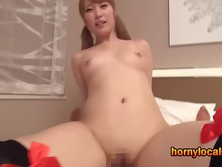 I Thing embrace little Asian Beauty Home alone