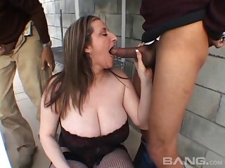 Husband loves sharing his busty wife Kitty Lee with his best friend