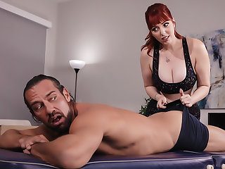 Stiff Roommate Massage