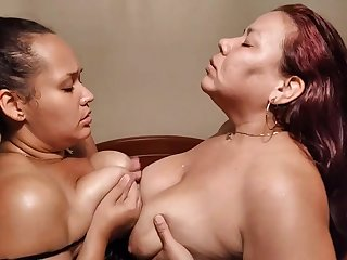 Got Milk - Chubby Latina Moms in Milking Lesbian Fetish
