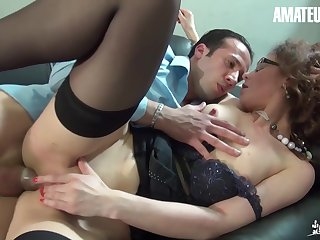 Julia Gomez Sexy French Milf Hardcore Anal Fuck At Work - Amateureuro With Max Casanova