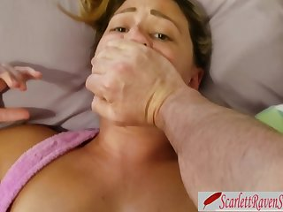 step DAD don't SPUNK IN ME! DAUGHTER-IN-LAW Porked and Creampied