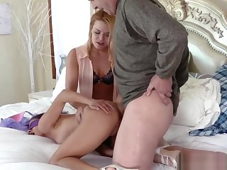 Helpless Teen And Young Girls Dancing Family Sex Education