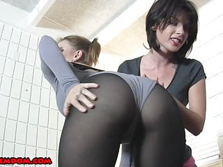 Femdom Strapon Chastity and Cum Feeding Compilation