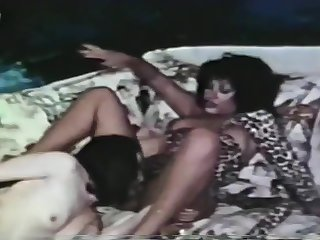 Gung-ho Lesbos Rendered helpless Many times Other's Assholes In Vintage Video