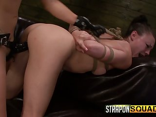 Red faced spitfire Isa Mendez has to lick holes of medial complain today