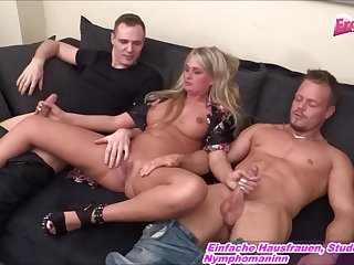 german amateur big tits blonde milf homemade gangbang
