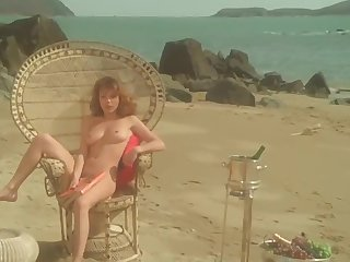 Muted unseemly 1977 motion picture Vanessa - scrupulous puffy nipples and full frontal herb
