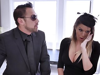 Impenetrable depths and firm penetration is the best way for Brooklyn Chase less cum