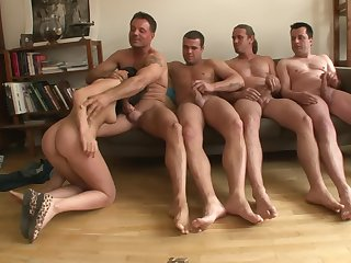 Angelica Black Covered By Cum Tax - ejaculation