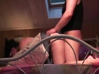 Mature bush-league woman licked, fingered and fucked