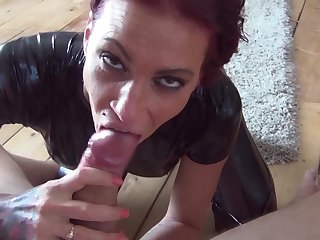 Naughty Mature Slut Calisi Ink POV sex