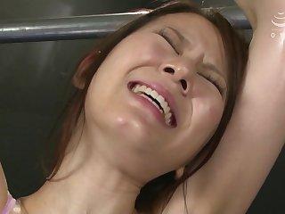 Asian skinny wench BDSM porn video