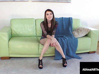 Hot Anal Pounded Misha Vitiated Leaks Warm Cum Out Of Her Ass!