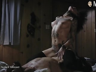 Gorgeous abundantly known sexy lady Angelina Jolie is made for explicit bed scenes