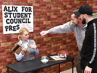 Alix Be useful to Student Council President